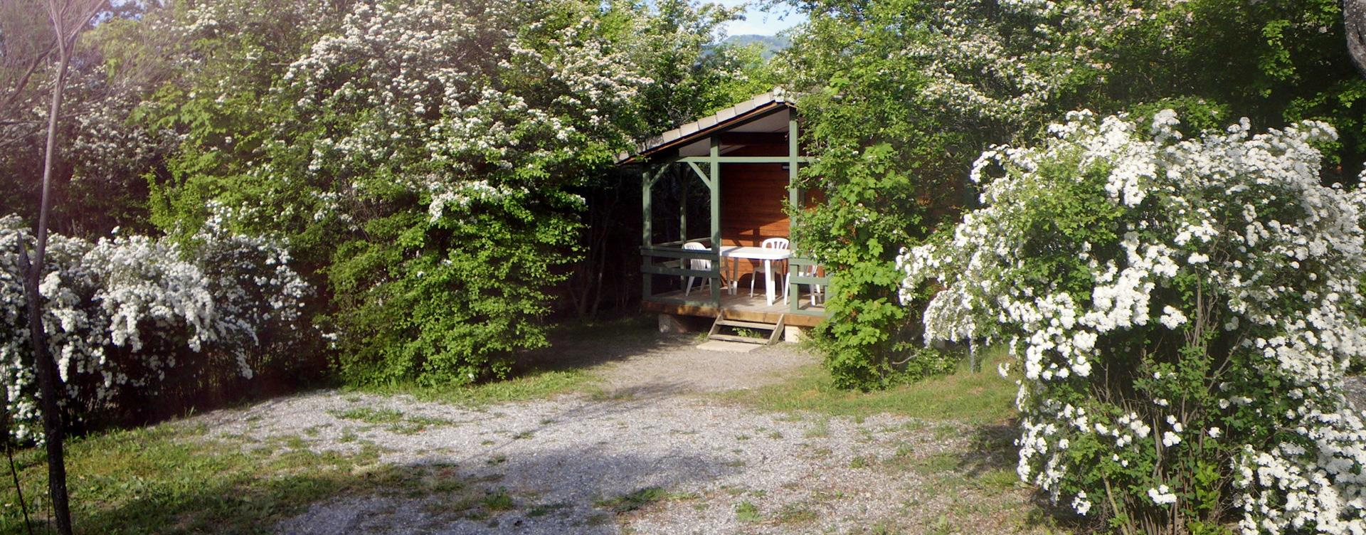 Chalet rental in Camping le Roustou in the Hautes-Alpes